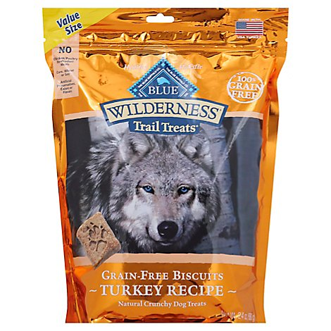Blue Wilderness Dog Turkey Biscuits Value Size - 24 Oz