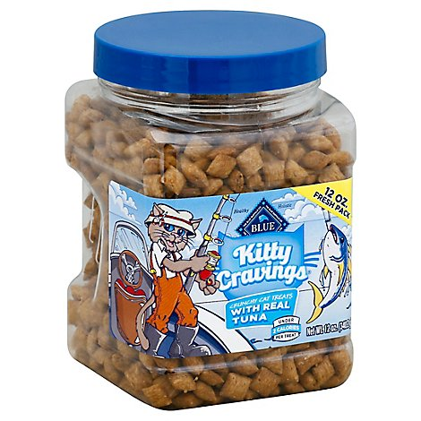 Blue Kitty Cravings Cat Treat-Tuna - 12 Oz