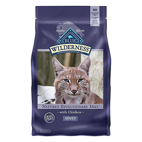 Blue Wilderness Adult Cat Chicken - 4 Lb