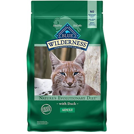 Blue Wilderness Adult Cat Duck - 4 Lb