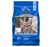 Blue Wilderness Adult Cat Indoor Chkn - 4 Lb