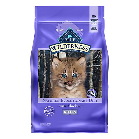 Blue Wilderness Kitten Chicken - 4 Lb