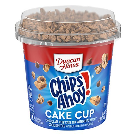 Duncan Hines Perfect Size for 1 Chocolate Chip with Chips Ahoy - 2.4 Oz