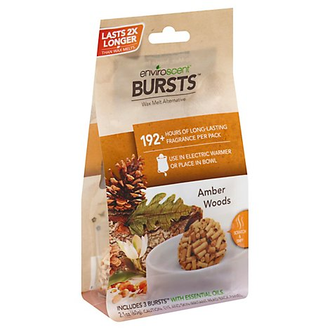 Enviroscent Bursts Ambers Woods - 5 Count