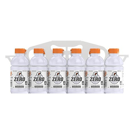 Gatorade G Zero Glacier Cherry Thirst - 12-12 Fl. Oz.