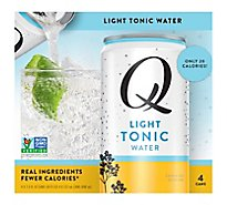 Q Mixers Tonic Water Light - 4-7.5 Fl. Oz.