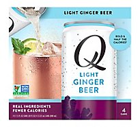 Q Mixers Ginger Beer Light - 4-7.5 Fl. Oz.
