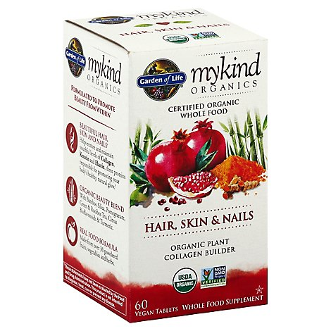 Mykind Hair Skin Nails - 60 Count