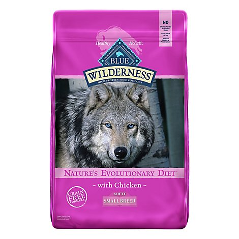 Blue Wilderness Small Breed Adult Dog Chicken - 11 Lb