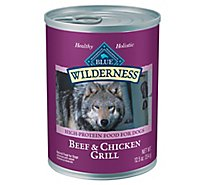 Blue Wilderness Dog Beef & Chicken Grill - 12.5 Oz
