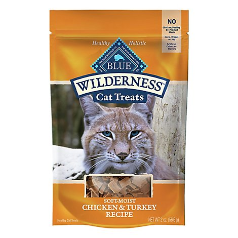 Blue Wilderness Cat Treats Chkn & Trky - 2 Oz