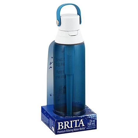 Brita Premium Hard Sided Water Bottle Sea Glass 26oz                 S - Each