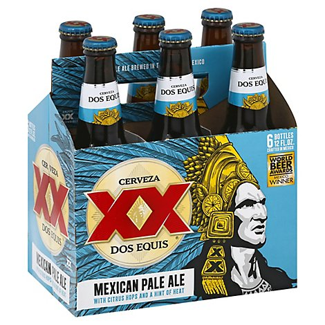 Dos Equis Mexican Pale Ale 6 In Bottles - 6-12 Fl. Oz.