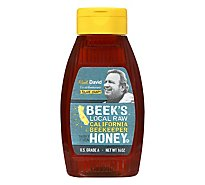 Beeks Raw Unfiltered Ca Honey Kingline - 16 Oz