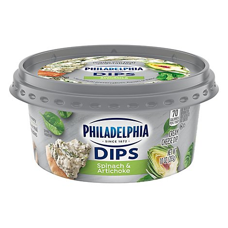 Kraft Philly Spinach And Artichoke Dip - 10 Oz