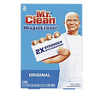 Mr. Clean Magic Eraser Cleaning Pads Original With Durafoam - 3 Count