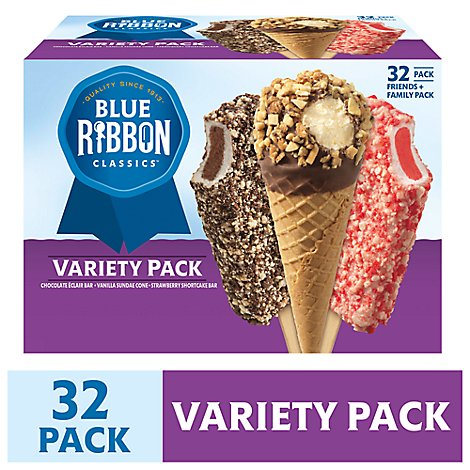 Blue Ribbon Classics Bar Cone Variety - 106.4 Fl. Oz.