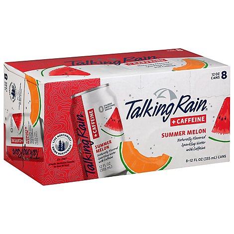 Talking Rain Sparkling Water Melon - 96 Fl. Oz.