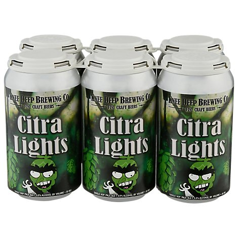 Knee Deep Citra Lights Pale Ale In Cans - 6-12 Fl. Oz.