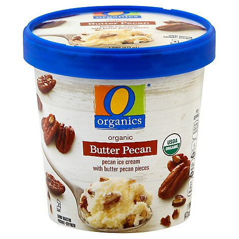 O Organics Ice Cream Butter Pecan - Pint