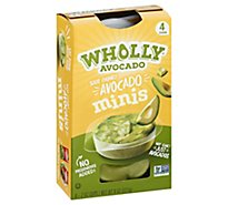 Wholly Avocado Mini Guacamole - 8 Oz