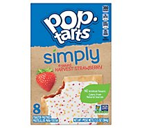 Pop-Tarts Toaster Pastries Frosted Harvest Strawberry 8 Count - 13.5 Oz