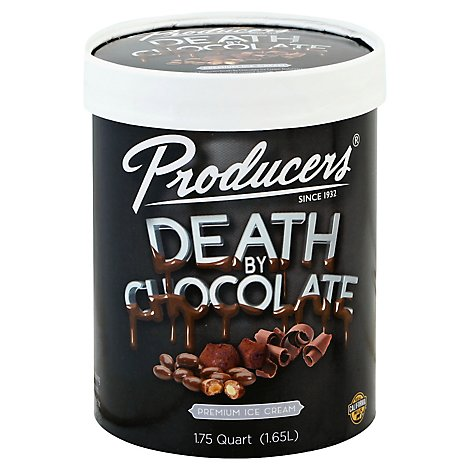 Producers Dairy Death By Chocolate Ice Cream - Each