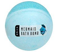 Hallu Large Bath Bomb Mermaid Vi - 4.9 Oz