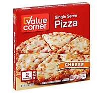 Value Corner Pizza Cheese Frozen - 5.2 Oz