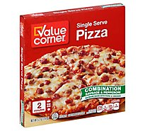 Value Corner Pizza Combination Frozen - 5.2 Oz