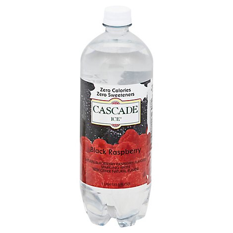 Cascade Ice Black Raspberry 1 Liter - 33.8 Fl. Oz.