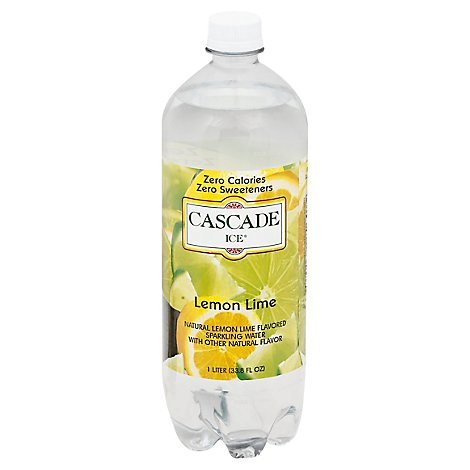 Cascade Ice Lemon Lime - 33.8 Fl. Oz.