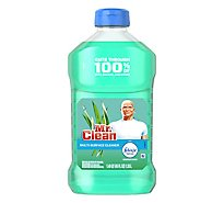 Mr. Clean Cleaner Multi Surface With Febreze Freshness Meadows & Rain - 45 Fl. Oz.