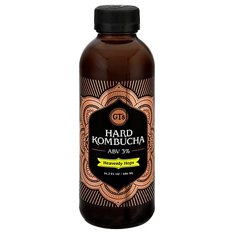Gts Kombucha Heavenly Hops Classic - 16.2 Fl. Oz.