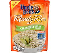 Uncle Bens Ready Rice Cilantro Lime Pouch - 8.5 Oz