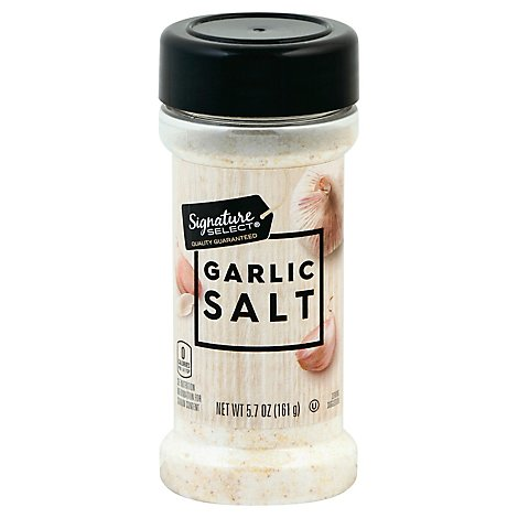 Signature SELECT Salt Garlic - 5.7 Oz