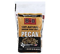 B&B Pecan Bbq Wood Chips - Each
