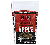 B&B Apple Bbq Wood Chips - Each