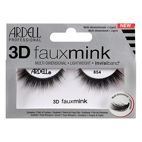 Aii Ard Lashes 3d Faux Mink 854 - Each