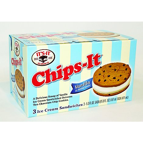 Its It Ice Cream Chips It 3 Pack - 15.9 Fl. Oz.