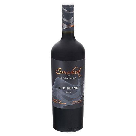 Dona Paula Smoked Red Blend Mendoza Wine - 750 Ml