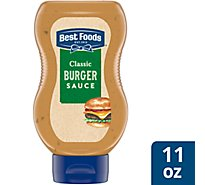Best Foods Burger Sauce Classic - 11 Oz