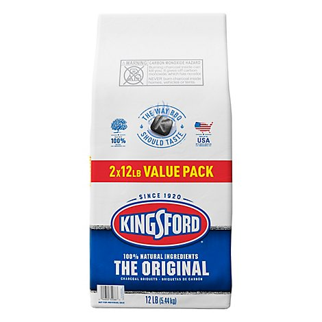 Kingsford Briquets Twin Pack - 2-12 Lb