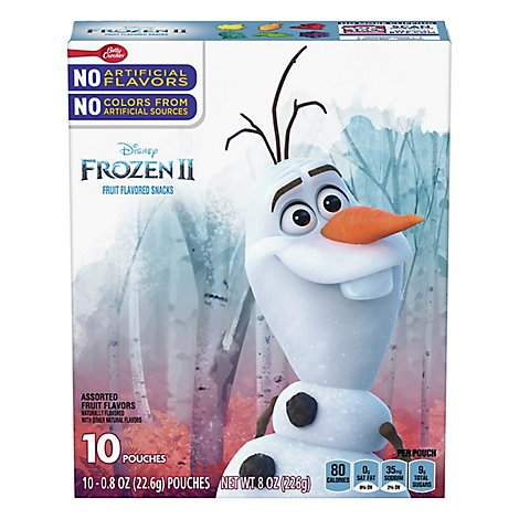 Bc Frt Sncks Disney Frozen 10ct - Each