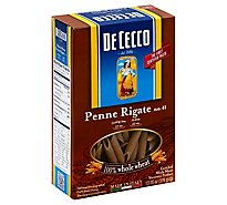De Cecco Whole Wheat Penne Pasta - 13.25 Oz