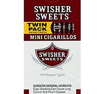 Sw/Sweets Cigarillos Mini Twin - 6 Count