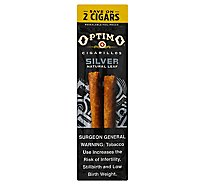 Optimo Cigarillos Silver - 2 Count