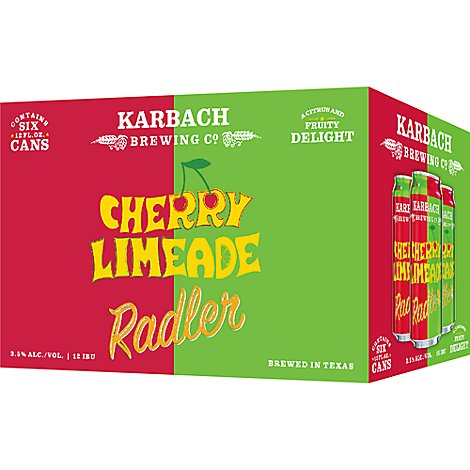 Karbach Cherry Limeade In Bottles - 6-12 Fl. Oz.