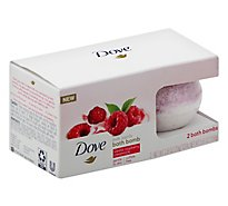 Dove Bath Bomb Vanilla Raspberry Crme - 5.6 Oz