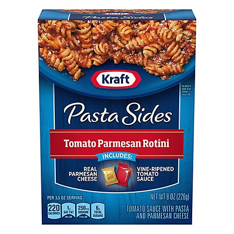 Kraft Dinners Sides Shelf Stable Sides Tomato Parmesan - 8 Oz